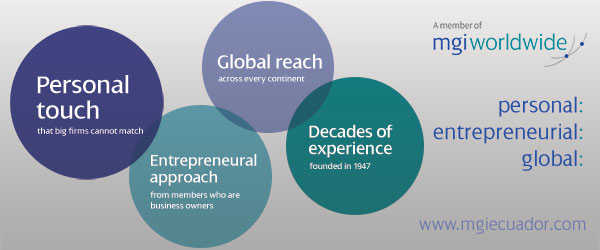 Personal Touch, Entrepreneurial Approach, Global Reach and Decades of Experience